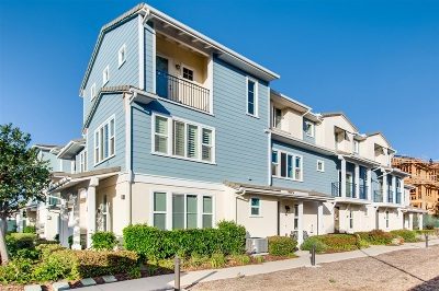 Oceanside Townhouse For Sale: 4369 Pacifica Way #2