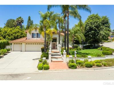 Escondido Single Family Home For Sale: 1901 Continental Lane
