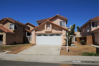 Oceanside Single Family Home For Sale: 1784 Avenida Vista Labera