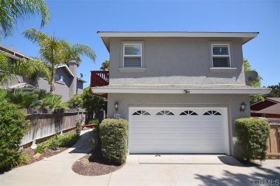 Encinitas Single Family Home For Sale: 339 Rancho Santa Fe Rd