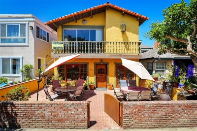San Diego Multi Family 2-4 For Sale: 728-730 Dover Court