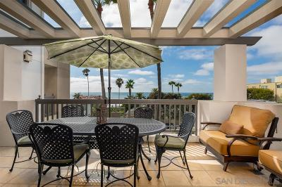 La Jolla Townhouse For Sale: 464 Prospect St #204
