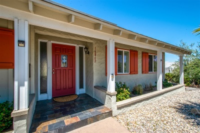 San Diego Single Family Home For Sale: 16862 Pinata Dr.