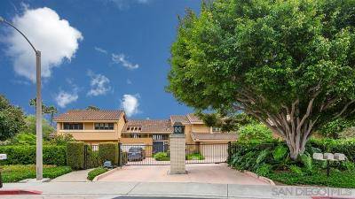 San Diego County Attached For Sale: 6409 Caminito Blythefield