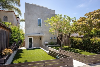 Pacific Beach Single Family Home For Sale: 729 Archer St