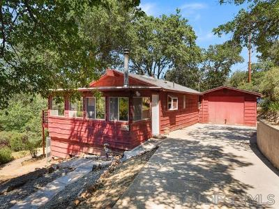 Julian Single Family Home For Sale: 2194 Whispering Pines Drive