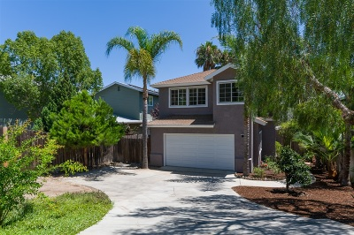 Encinitas CA Single Family Home For Sale: $899,000