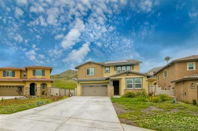 Fallbrook Single Family Home For Sale: 35655 Garrano Lane