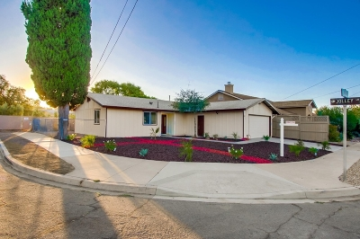Poway Single Family Home For Sale: 12830 Neddick Ave