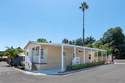 Escondido Mobile/Manufactured For Sale: 1575 W Valley Parkway #9
