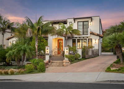 Solana Beach Single Family Home For Sale: 142 S S Granados Ave