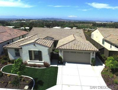 Vista Single Family Home For Sale: 424 Adobe Estates Dr