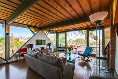 San Diego Single Family Home For Sale: 946 Bangor