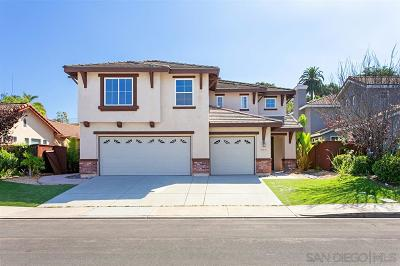 San Marcos Single Family Home For Sale: 1555 Loma Alta