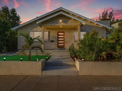 Pacific Beach Single Family Home For Sale: 1150 Emerald St