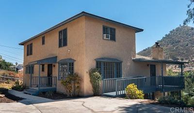 El Cajon Single Family Home For Sale: 810-816 Ethel Trl