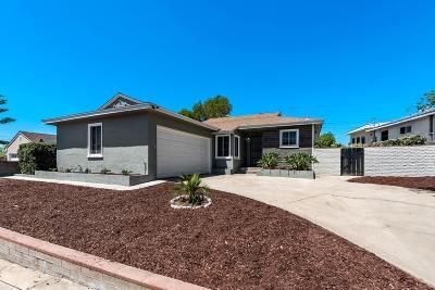 San Diego Single Family Home For Sale: 6352 Carthage St