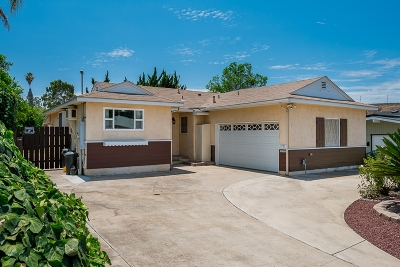 San Diego Single Family Home For Sale: 4725 Greenbrier Ave