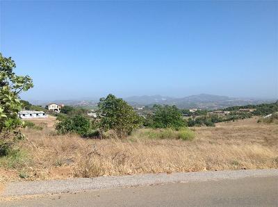 Bonsall Residential Lots & Land For Sale: Lot 1 Villa Del Cielo #1