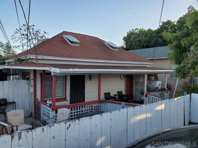 Lemon Grove Multi Family 2-4 For Sale: 7505 Mt Vernon St