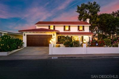 San Diego Single Family Home For Sale: 8605 Dent Dr