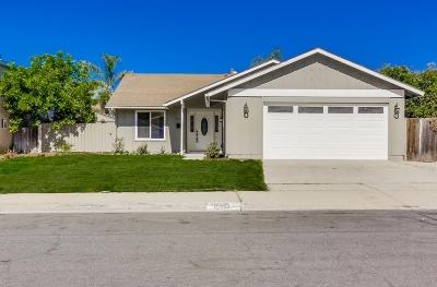 Poway Single Family Home For Sale: 15110 Hesta St