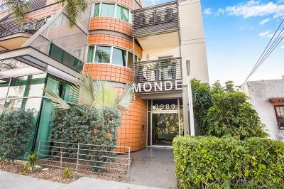 San Diego Attached For Sale: 3980 9th Ave #208