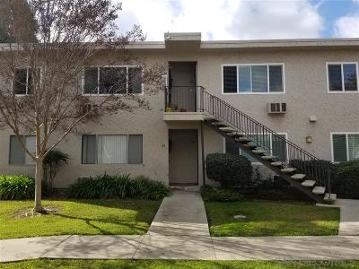 La Mesa Attached For Sale: 8220 Vincetta Drive #63