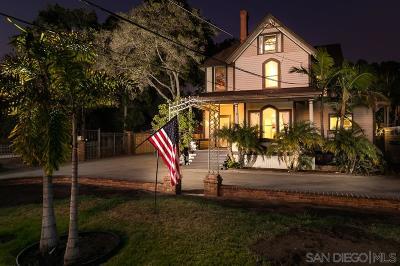 Chula Vista Single Family Home For Sale: 681 Del Mar Ave
