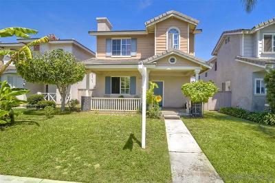 Chula Vista CA Single Family Home For Sale: $529,900