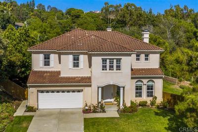 Lake San Marcos Single Family Home For Sale: 1636 Brighton Glen Rd
