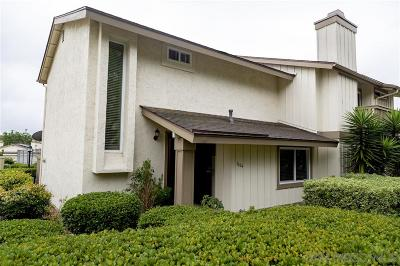 Oceanside Townhouse For Sale: 3664 Harvard Dr