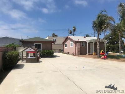 Oceanside Single Family Home For Sale: 307 N San Diego St