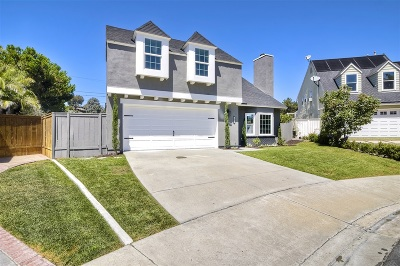 Carlsbad Single Family Home For Sale: 4411 Salisbury