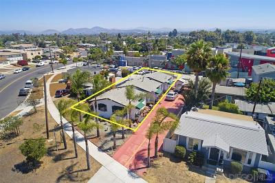 San Diego Multi Family 2-4 For Sale: 4613-17 E Mountain View Dr.