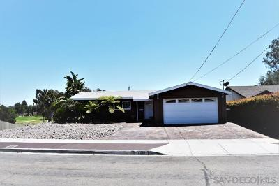 San Diego CA Single Family Home For Sale: $609,900