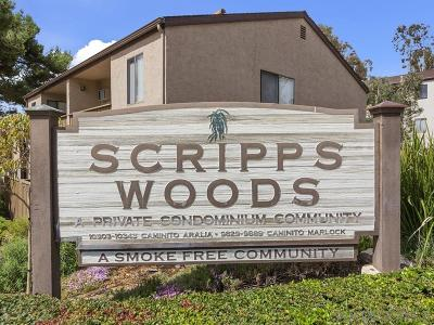 Scripps Ranch Attached For Sale: 10332 Caminito Aralia #110