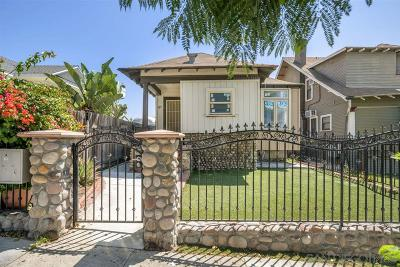 San Diego Multi Family 2-4 For Sale: 525 25th St.
