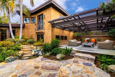 Del Mar Single Family Home For Sale: 945 Crest