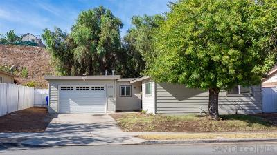 San Diego Single Family Home For Sale: 274 69th St