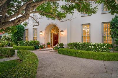 Coronado  Single Family Home For Sale: 731 Adella Ave
