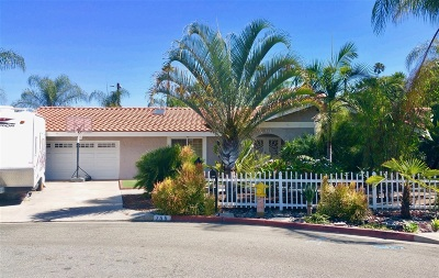 Vista Single Family Home For Sale: 755 Cromwell Way