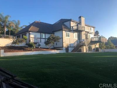 Carlsbad Single Family Home For Sale: 2728 Cazadero Dr.