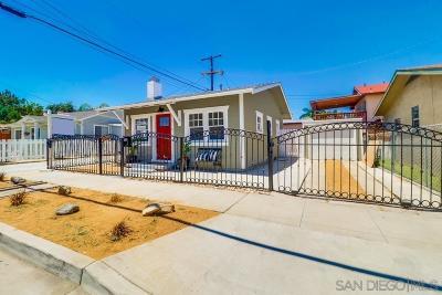 San Diego Single Family Home For Sale: 3676 Monroe Avenue
