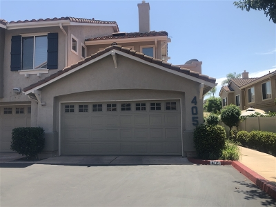 Santee Townhouse For Sale: 405 Whispering Willow Dr #F