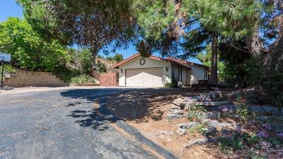 Single Family Home For Sale: 12076 Old Pomerado Rd