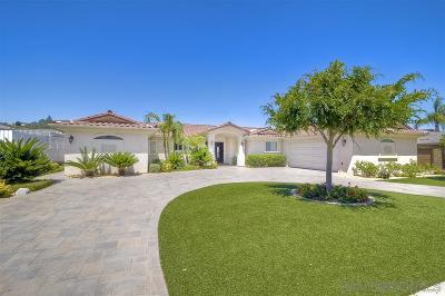 Single Family Home For Sale: 17828 Via Gracia