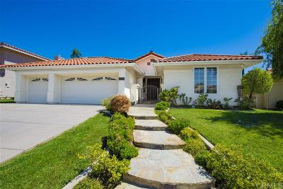 Carlsbad Single Family Home For Sale: 4646 Pannonia Rd