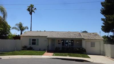 San Diego Single Family Home For Sale: 5210 Augustana P.