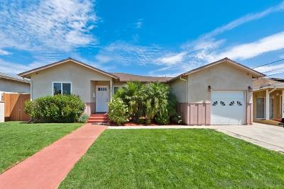 Escondido Single Family Home For Sale: 720 Fern St.